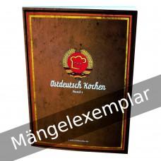 Ostdeutsch Kochen - Band 1 (Mängelexemplar)